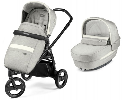 Коляска 2 в 1 Peg Perego Book Scout Elite Luxe Pure