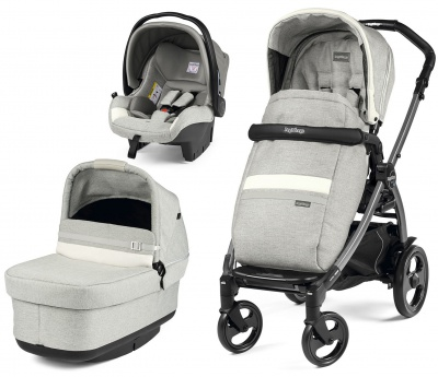 Коляска 3 в 1 Peg Perego Book 51 Pop-Up Modular Luxe Pure