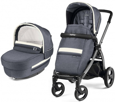 Коляска 2 в 1 Peg Perego Book S Elite Luxe Mirage